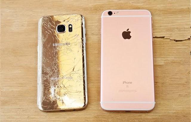 преимущества iPhone 7 над Samsung Galaxy S8