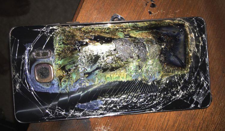 взрывы смартфонов Samsung Galaxy Note 7