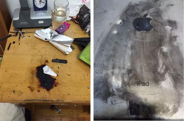 взрыв iPad Air