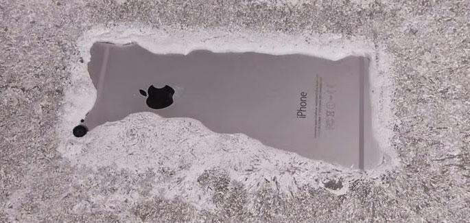 iPhone быстро разряжается на холоде