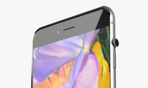 «Безрамочный» iPhone 8