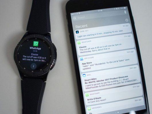 подключить смарт-часы Samsung Gear S3 к iPhone