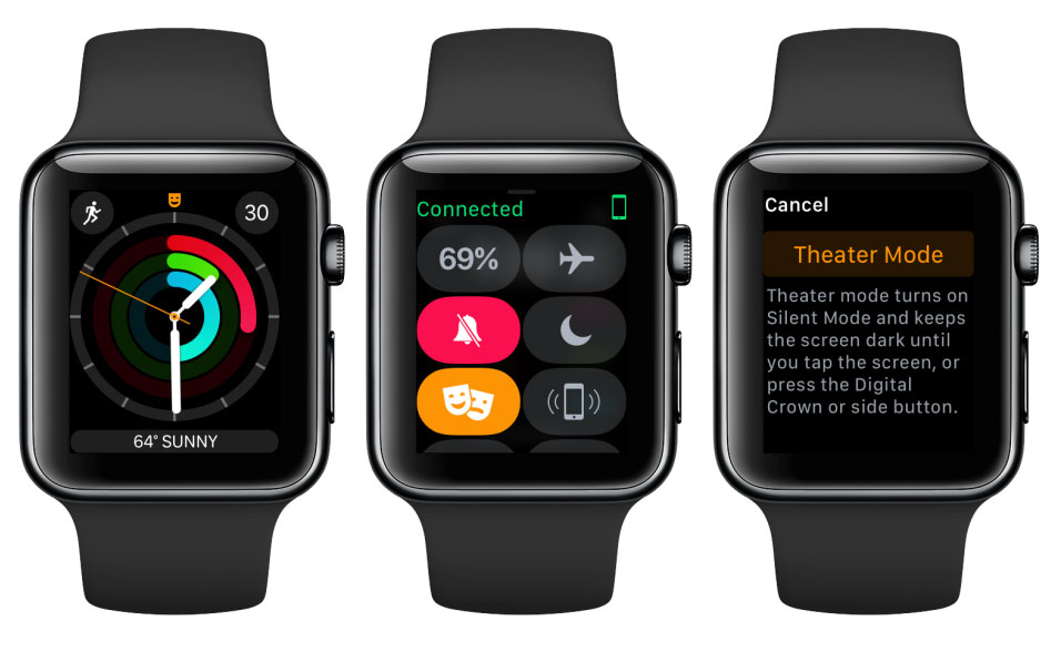 Apple Watch с watchOS 3.2