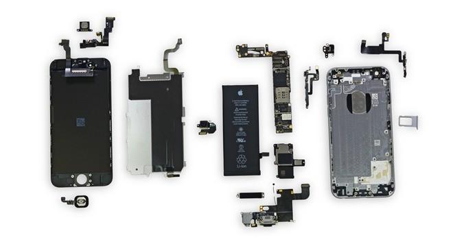 комплектующие для iPhone