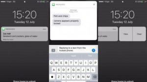 Баг в iOS 10