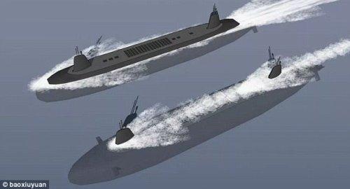 Проекты субмарин с новым двигателем