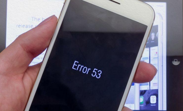 Обновление iOS может вывести из строя айфон