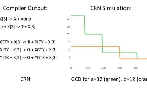 Работа компилятора CRN++