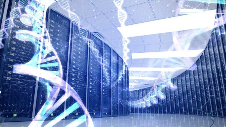 хранилище данных на базе молекул ДНК