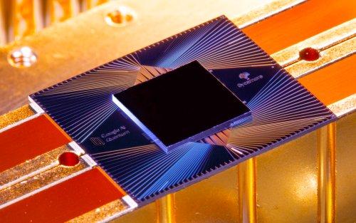 Процессор квантового компьютера Google