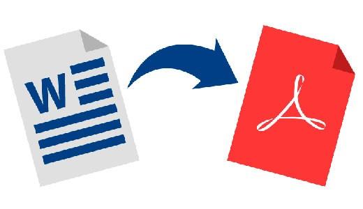 Как перевести Ворд в pdf